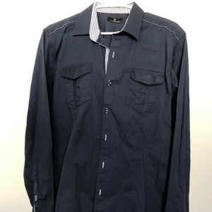 7 Diamonds Men's size Large dress shirt